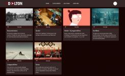 Screenshot van Daltonwebsite
