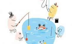 Afbeelding Boekstartdag 2021 vissen in vijver